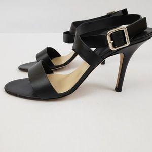 Michael Kors w/box Black Strappy Heeled Sandals S9